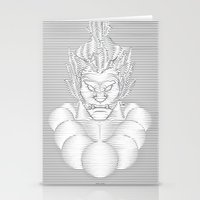 resident evil Stationery Cards featuring Evil Intent by WillFocus