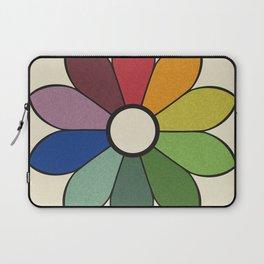 James Ward's Chromatic Circle (no background) Laptop Sleeve