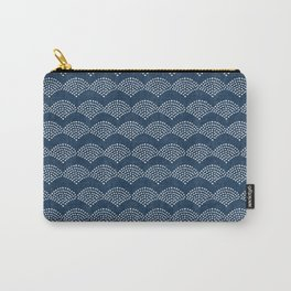 Wabi Sabi Arches in Blue Carry-All Pouch