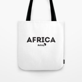 Africa All Day Tote Bag