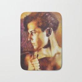 Ramon Navarro, Vintage Silent Movie Actor Bath Mat