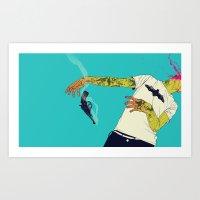 boneface Art Prints featuring Roulette by boneface