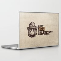 yetiland Laptop & iPad Skins featuring Grumpy PSA by Eric Fan