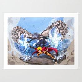 Sage Art : Spiraling Thunderstorm Shuriken Art Print