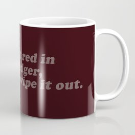 Red in my Ledger Coffee Mug