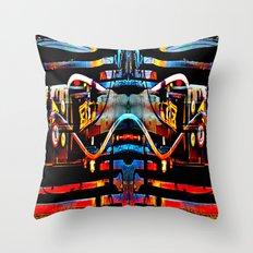 BOT4 Throw Pillow