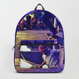 Colorful Skater Backpack
