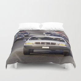 OJ Simpson Car Chase Duvet Cover