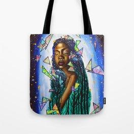 Golden Woman Tote Bag