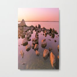 Evening seascape Metal Print