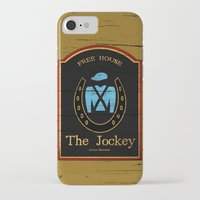 shameless iPhone & iPod Cases featuring The Jockey - Shameless by Jim T