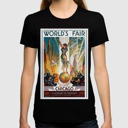 Vintage World's Fair Chicago IL 1933 T-shirt