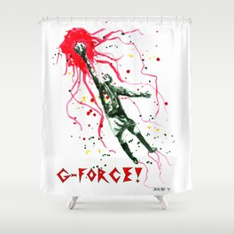 G-Force Shower Curtain