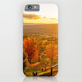 Slope at Sunset iPhone Case