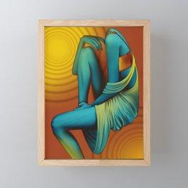 'Faceless' Part I Framed Mini Art Print