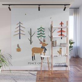 Peace On Earth Wall Mural