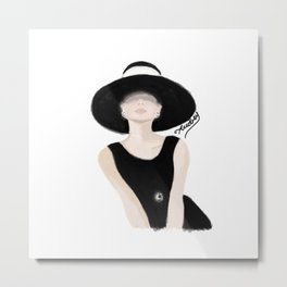 Breakfast Tiffany Metal Print