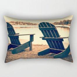 At the Lake Rectangular Pillow