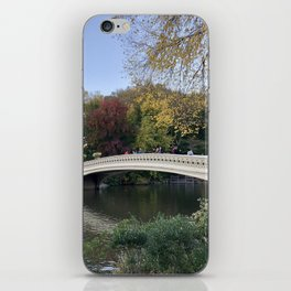 Autumn in New York iPhone Skin