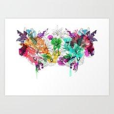 Flowers.. Art Print