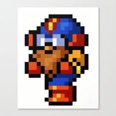 Final Fantasy II - Cid Canvas Print