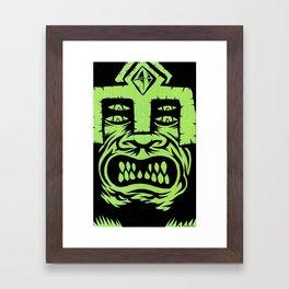 demon lord Framed Art Print