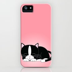 Tuxedo Kitten iPhone (5, 5s) Slim Case