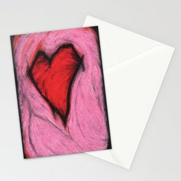 teenaged love Stationery Cards
