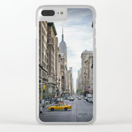 NEW YORK CITY 5th Avenue Clear iPhone Case