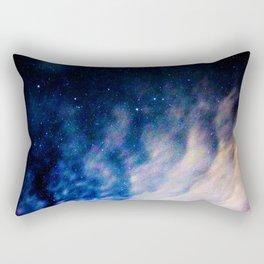 space waves Rectangular Pillow