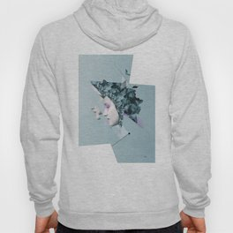 Faces Blue 05 Hoody
