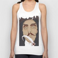hook Tank Tops featuring HOOK by Itxaso Beistegui Illustrations