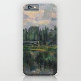 Paul Cézanne - Le Pont sur la Marne à Créteil iPhone Case