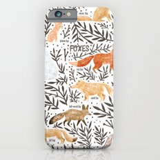 Foxes Field Guide Slim Case iPhone 6s