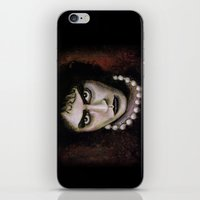 rocky horror picture show iPhone & iPod Skins featuring Untitled I by Rouble Rust