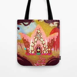 Hansel & Gretel: Candy Cottage Tote Bag