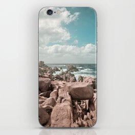 rocks and sea iPhone Skin