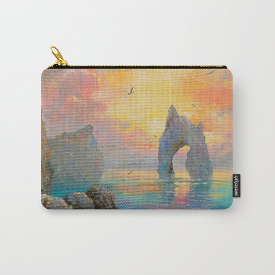 Rocks on the sea Carry-All Pouch