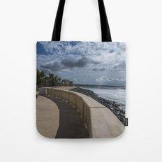 Aguadilla ocean view Tote Bag