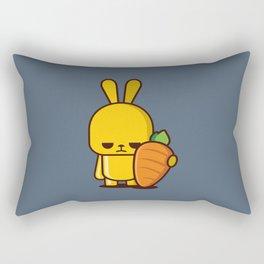 Angry Rabbit Rectangular Pillow