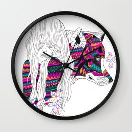 ▲SHE-WOLF▲ Wall Clock