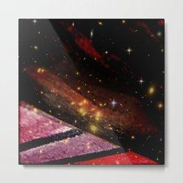 Minimal Astros Metal Print