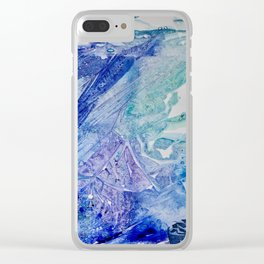 Water Scarab Fossil Under the Ocean, Environmental Clear iPhone Case