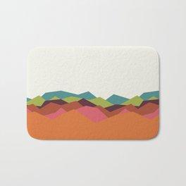 Chevron Mountain Bath Mat