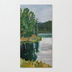Sheridan Trees Canvas Print