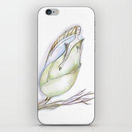 Elf-spring-love-green iPhone Skin