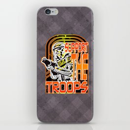 Support the (Storm) Troops iPhone Skin