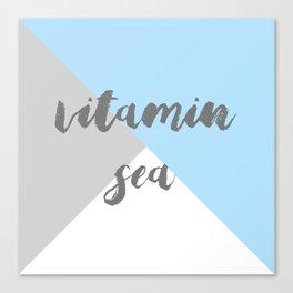 Vitamin C Sea Canvas Print
