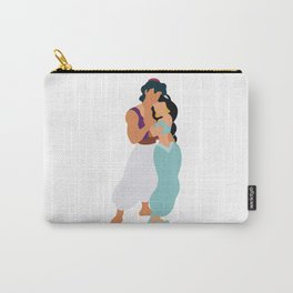 Jasmine and Aladdin Carry-All Pouch