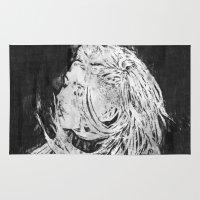 ellie goulding Area & Throw Rugs featuring Ellie by Misha Libertee